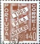 Sellos del Mundo : Europa : Portugal : Intercambio 0,20 usd 40 cent. 1935