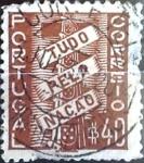 Stamps Portugal -  Intercambio 0,20 usd 40 cent. 1935
