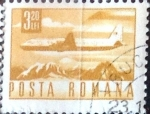 Stamps : Europe : Romania :  3,20 l. 1971