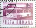 Sellos del Mundo : Europa : Rumania : Intercambio 0,20 usd 1,20 l. 1971
