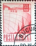 Stamps : Europe : Romania :  55 b. 1967