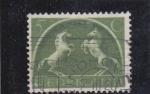 Stamps Netherlands -  CABALLOS RAMPANTES