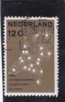 Sellos de Europa - Holanda -  1962 AUTOMATIZACIÓN DE LA TELEFONÍA