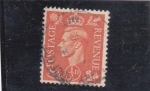 Stamps United Kingdom -  GEORGE VI