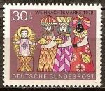 Sellos de Europa - Alemania -  Navidad 1972.