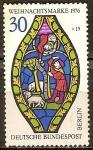 Sellos del Mundo : Europa : Alemania :  Navidad 1976.