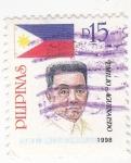 Stamps Philippines -  EMILIO AGUINALDO - general y político