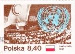 Stamps Poland -  CONGRESO ONZ 1945-1980