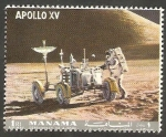 Stamps : Asia : United_Arab_Emirates :  Manama - Apolo  XV