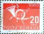 Stamps Romania -  Intercambio 0,10 usd 20 b. 1967