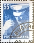 Sellos de Europa - Rumania -  Intercambio 0,20 usd 55 b. 1975
