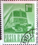 Stamps : Europe : Romania :  Intercambio 0,20 usd 1 l. 1968