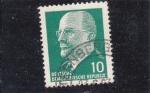 Stamps Germany -  presidente Walter Ulbricht