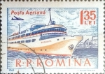 Stamps : Europe : Romania :  Intercambio pxg 0,30 usd 1,35 l. 1963