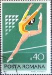 Stamps Romania -  Intercambio 0,20 usd 40 b. 1977