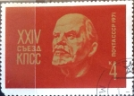 Stamps : Europe : Russia :  Intercambio agm2 0,20 usd 4 k. 1971