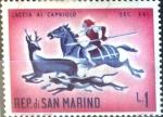 Sellos del Mundo : Europa : San_Marino : Intercambio cxrf 0,20 usd 1 l. 1961