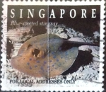 Sellos del Mundo : Asia : Singapur : Intercambio 0,40 usd 20 cent. 1994