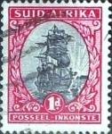 Sellos del Mundo : Africa : Sudáfrica : 1 p. 1934