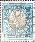 Sellos del Mundo : Africa : Sudáfrica : 1/2 p. 1936