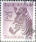 Sellos del Mundo : Africa : Sudáfrica : Intercambio 0,20 usd 2 p. 1954