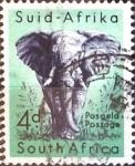 Sellos del Mundo : Africa : Sudáfrica : Intercambio 0,20 usd 4 p. 1954