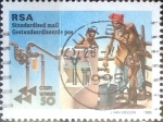 Stamps : Africa : South_Africa :  Intercambio pxg 0,60 usd 60 p. 1995