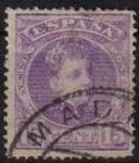 Sellos de Europa - España -  ESPAÑA 1901-5 246 Sello Alfonso XIII 15c. Tipo Cadete Usado
