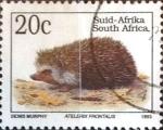 Sellos de Africa - Sudáfrica -  Intercambio cxrf 0,20 usd 20 cent. 1993