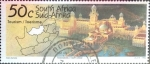 Stamps : Africa : South_Africa :  Intercambio 0,60 usd 50 cent. 1995