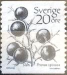 Stamps Sweden -  Intercambio 0,20 usd 20 o. 1983