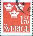 Sellos de Europa - Suecia -  Intercambio 0,20 usd 1,70 k. 1951