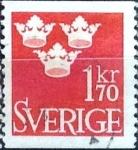 Sellos del Mundo : Europa : Suecia : Intercambio 0,20 usd 1,70 k. 1951