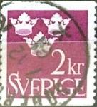 Sellos de Europa - Suecia -  Intercambio 0,20 usd 2 k. 1952