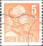 Sellos de Europa - Suecia -  Intercambio 0,20 usd 5 o. 1948
