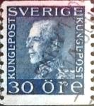Sellos del Mundo : Europa : Suecia : Intercambio 0,45 usd 30 o. 1923
