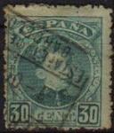 Stamps Spain -  ESPAÑA 1901-5 249 Sello Alfonso XIII 30c. Tipo Cadete Usado