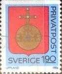 Sellos de Europa - Suecia -  Intercambio cxrf 0,20 usd 1,90 k. 1986
