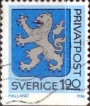 Stamps : Europe : Sweden :  Intercambio agm2 0,20 usd 1,90 k. 1986