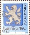 Sellos de Europa - Suecia -  Intercambio 0,20 usd 1,90 k. 1986
