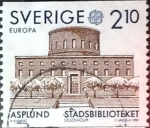 Stamps : Europe : Sweden :  Intercambio jcpf 0,35 usd 2,10 k. 1987