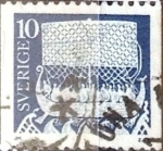 Sellos de Europa - Suecia -  Intercambio 0,20 usd 10 o. 1973