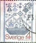 Stamps Sweden -  Intercambio 0,20 usd 4 k. 1979