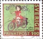 Stamps : Europe : Sweden :  Intercambio pxg 0,25 usd 1,90 k. 1987