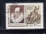 Sellos de Europa - Rusia -  350 años de la muerte de Miguel de Cervantes (1547-1616)