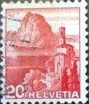 Sellos de Europa - Suiza -  Intercambio 0,25 usd 20 cent. 1938