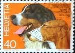 Sellos del Mundo : Europa : Suiza :  Intercambio ma4xs 0,25 usd 40 cent. 1983