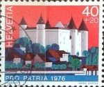 Sellos de Europa - Suiza -  Intercambio ma4xs 0,30 usd 40 + 20 cent. 1976