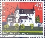 Sellos de Europa - Suiza -  Intercambio 0,35 usd 40 + 20 cent. 1977