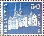 Sellos de Europa - Suiza -  Intercambio 0,20 usd 50 cent. 1968